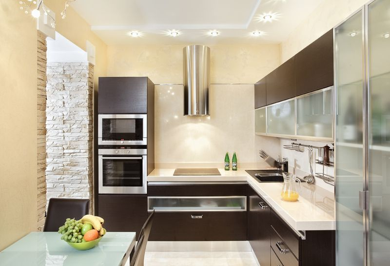 Space Saving Design Ideas Small Kitchens Cool Space