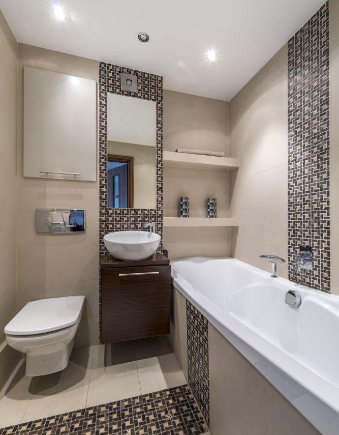 Dom pl malowanie cian jak podwy szy zbyt niskie wn trza for Bathroom designs for small spaces south africa