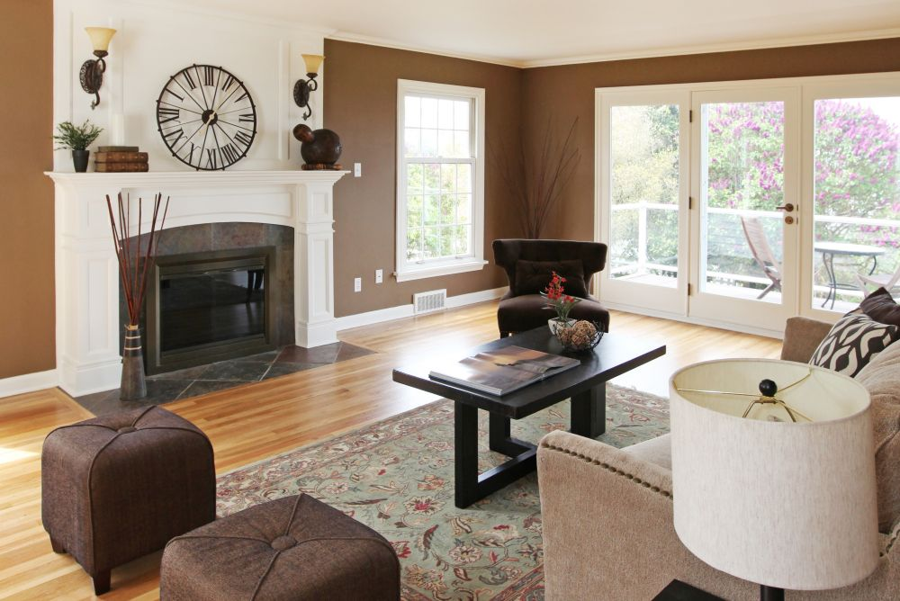 How to Pick Colors for a Living Room and Dining Room Combo