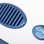 ionic air purifier filter close up macro