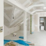 Unfinished Home Interior - the attic