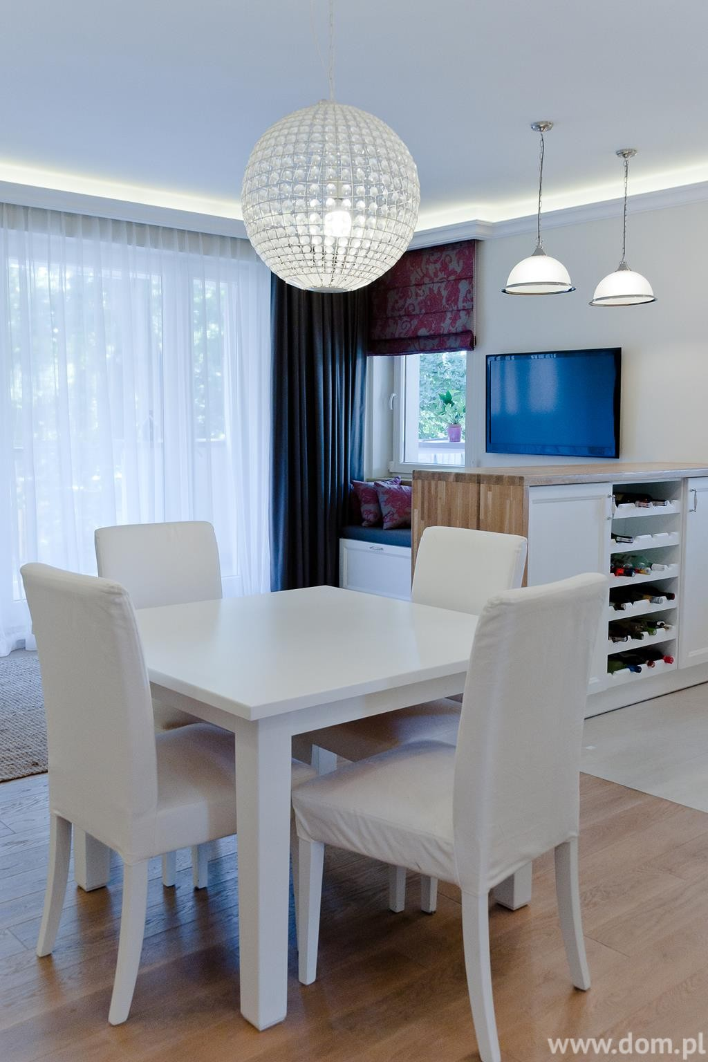 Apartament Anin, projekt: THE SPACE